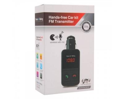 خرید اف ام پلیر بلوتوثی و شارژر  Bluetooth FM Player 301E