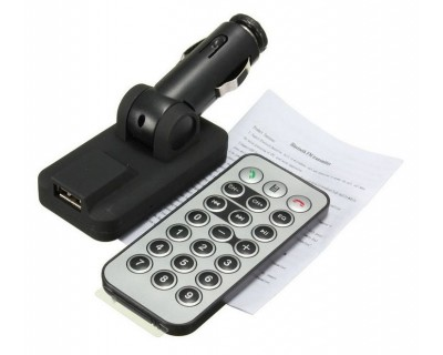 قیمت اف ام پلیر بلوتوثی و شارژر  Bluetooth FM Player 301E
