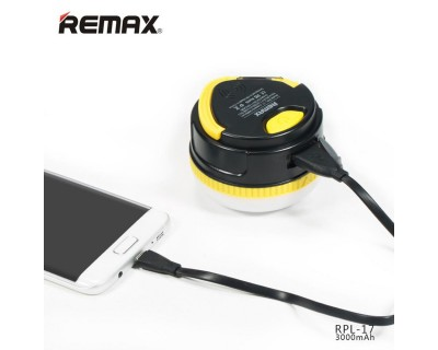 فروش پاور بانک و چراغ همراه ریمکس Remax RPL-17 3000 mah