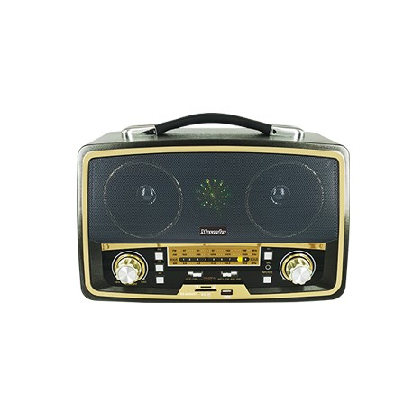 قیمت رادیو طرح قدیم بلوتوثی مکسیدر maxeeder MX-RA844BT AM08
