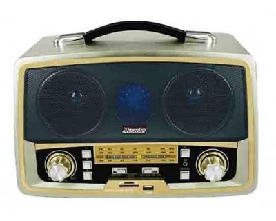 خرید رادیو طرح قدیم بلوتوثی مکسیدر Maxeeder MX-RA1213 AM08