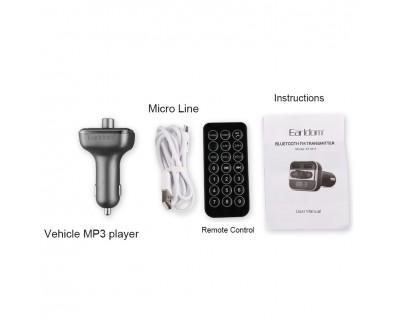 قیمت خرید اف ام پلیر بلوتوثی و شارژر فندکی Ealdorm ET-M11 Bluetooth FM Player