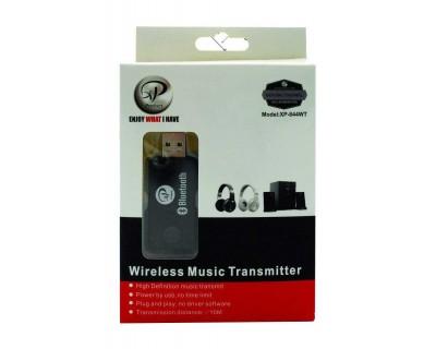 قیمت خرید دانگل فرستنده بلوتوثی صدا Bluetooth Music Transmitter xp-844wt