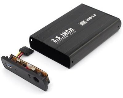 قیمت خرید قاب هارد 3.5 اینچ ساتا اکسترنال SATA HDD Box USB3.0
