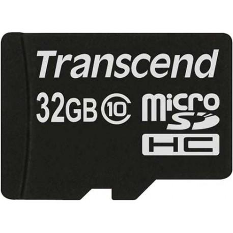 کارت حافظه میکرو 32 گیگابایت Transcend Class 10 MicroSD - 32GB