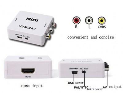 قیمت خرید مبدل HDMI به AV مدل Mini HDMI2AV Converter