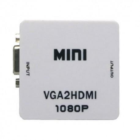 قیمت خرید مبدل  VGA به HDMI مدل Mini VGA2HDMI Converter FullHD
