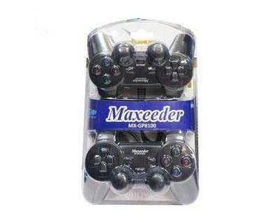 قیمت خرید دسته بازی و گیم پد شوک دار دوبل مکسیدر مدل MX-GP8100 WN03