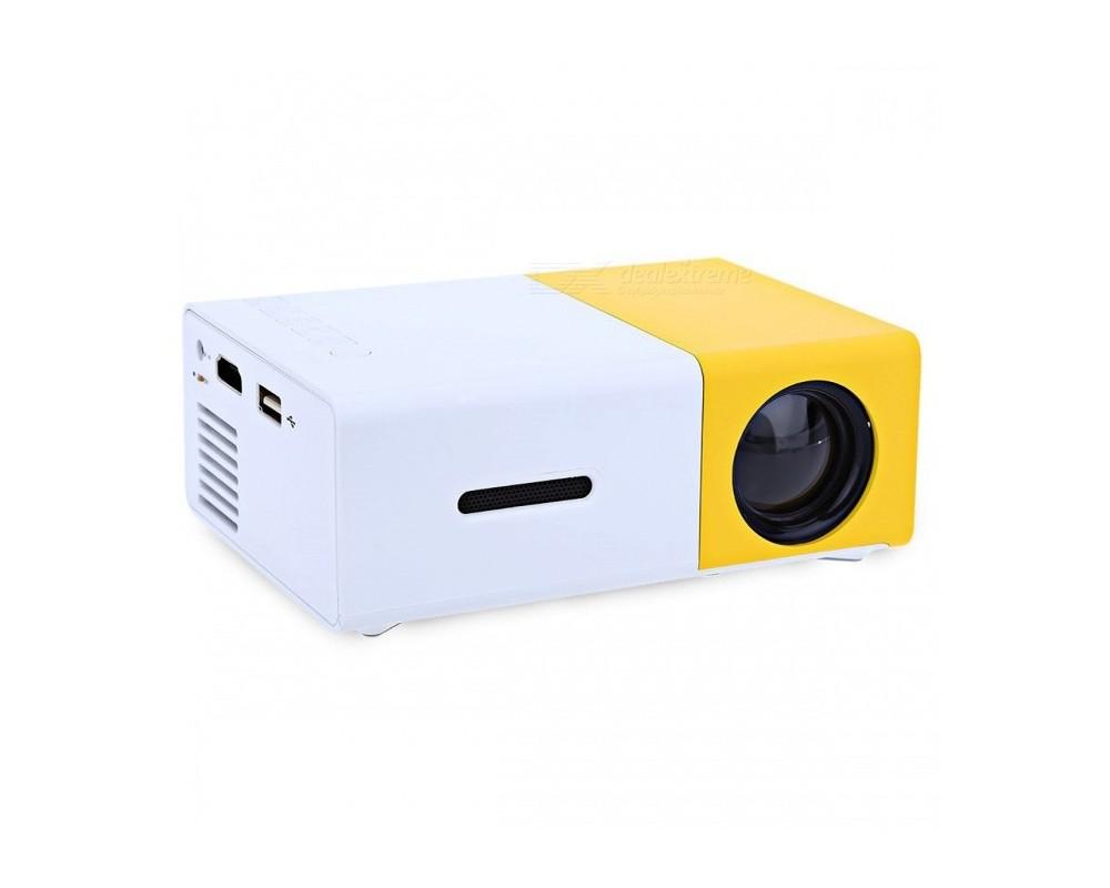 قیمت خرید ویدئو پروژکتور مینی قابل حمل مدل Yellow