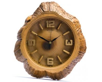 خرید ساعت دیواری ولدروود طرح چوب
