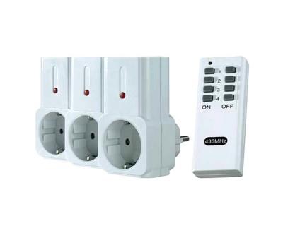 قیمت خرید پریز برق کنترل از راه دور سه تایی آسا لایوگرین ASA Livegreen