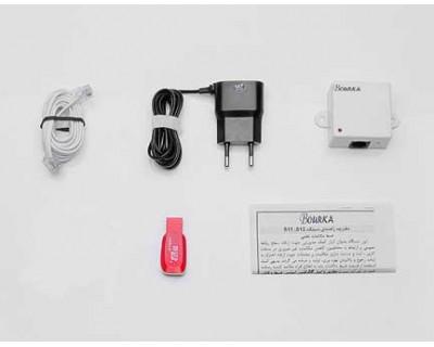 خرید دستگاه ضبط تماس تلفنی بورکا S12 با قابلیت ضبط مکالمات تلفنی ورودی و خروجی تلفن ثابت