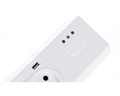 قیمت خرید محافظ ولتاژ تلویزیون و کامپیوتر تیراژه دارای پورت USB شارژر گوشی موبایل