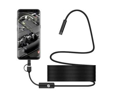 قیمت خرید دوربین بروسکوپ اندرویدی 3.5 متری Borescope for Android AN97