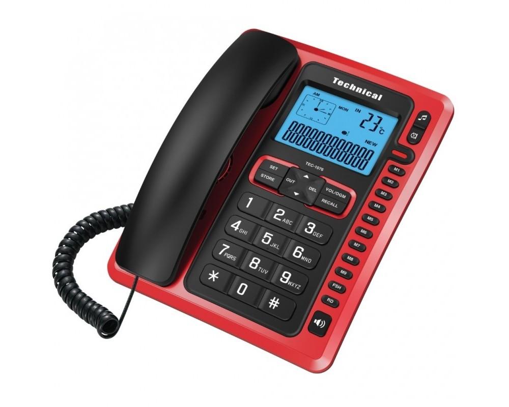قیمت خرید تلفن رومیزی تکنیکال مدل Technical TEC-1076
