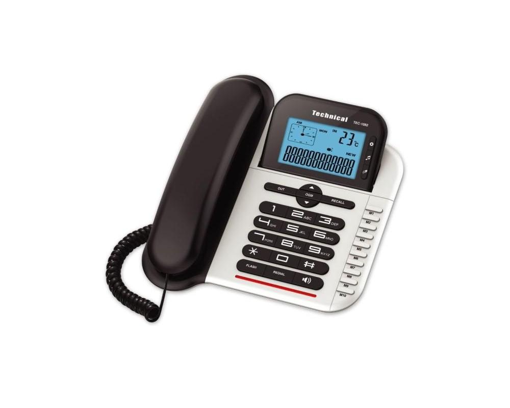 قیمت خرید تلفن رومیزی تکنیکال مدل Technical TEC-1082