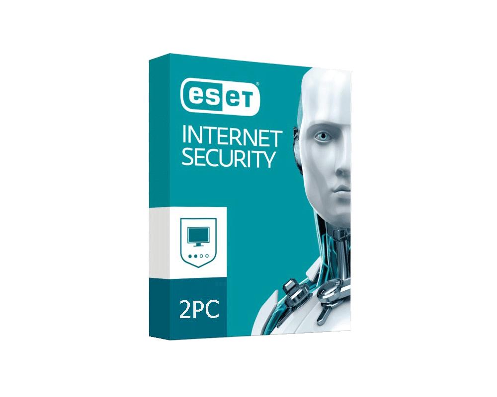 خرید لایسنس اورجینال آنتی ویروس دو کاربره ESET Internet Security 2 PC