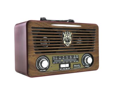 قیمت خرید رادیو اسپیکر طرح قدیم Maxeeder MX-RA1223 AM02