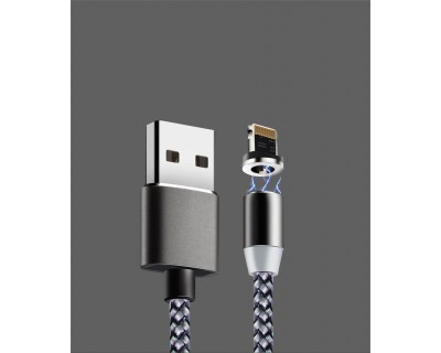 قیمت خرید کابل شارژ مغناطیسی 3 سر اندروید، تایپ سی و آیفون Iphone Lighting/Android Micro USB/Type-C