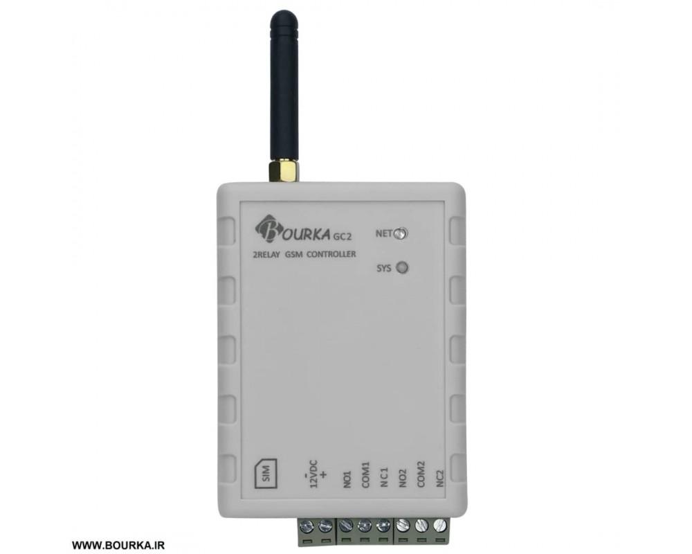 خرید کنترلر سیم کارتی 2 کانال (پریز هوشمند) مدل GC2
