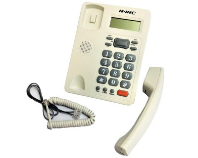 قیمت خرید تلفن رومیزی ان ای ان سی مدل N.INC KX-T8207CID