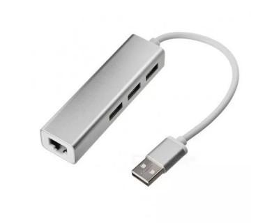 قیمت خرید تبدیل USB به LAN + هاب USB2.0