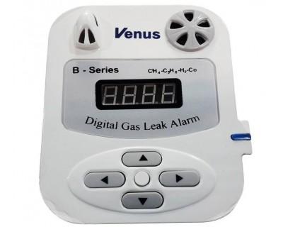 قیمت خرید هشدار دهنده نشت گاز مونوکسید و دی اکسید کربن و گاز شهری ونوس مدل Venus B
