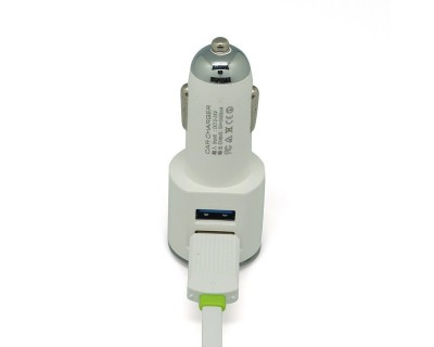 قیمت شارژر فندکی گوشی موبایل دو پورت DL-C29