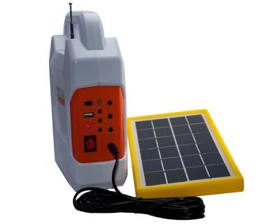 قیمت خرید سیستم روشنایی و پاوربانک خورشیدی و اسپیکر کامیسیف مدل Kamisafe KM-915
