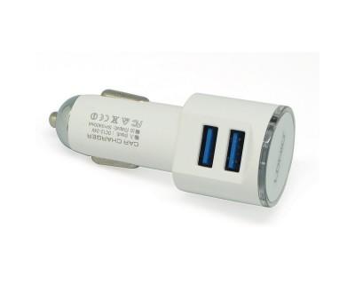 قیمت شارژر فندکی موبایل دو پورت DL-C29