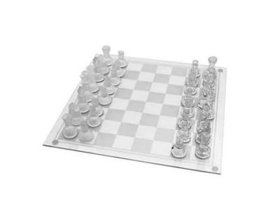 شطرنج شیشه ای كوچک Glass Chess