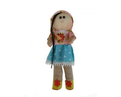 قیمت خرید عروسک طرح دختر روسی ارتفاع 23 سانتی متر