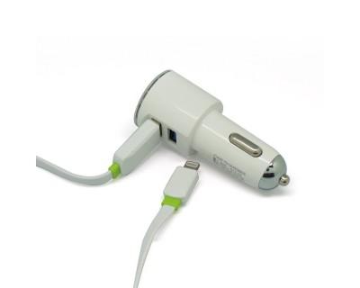 خرید شارژر فندکی موبایل دو پورت DL-C29