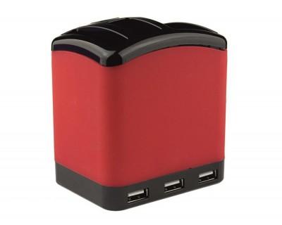 هاب یو اس با قابلیت جا قلمی XP 825 USB Hub With Pen Holder