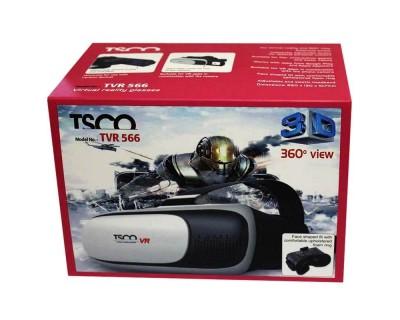 عینک واقعیت مجازی تسکو TSCO TVR-566 Virtual Reality Headset