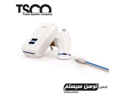 قیمت ست شارژر مسافرتی TSCO TTC-34