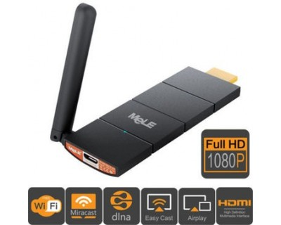 قیمت خرید دانگل حرفه ای تلویزیون و پروژکتور وایرلس مله کست MeLE Cast S3 - HDMI streaming Media Player Doungle