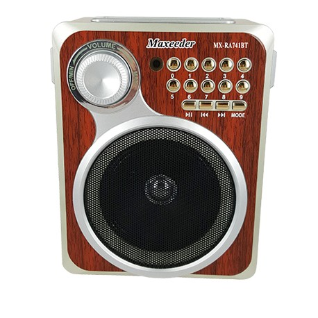 قیمت خرید رادیو اسپیکر Maxeedr MX-RA741BT